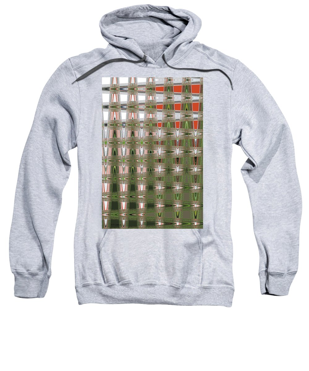 Indian Paint Pot Flower Abstract #2 Sweatshirt featuring the photograph Indian Paint Pot Flower Abstract #2 by Tom Janca