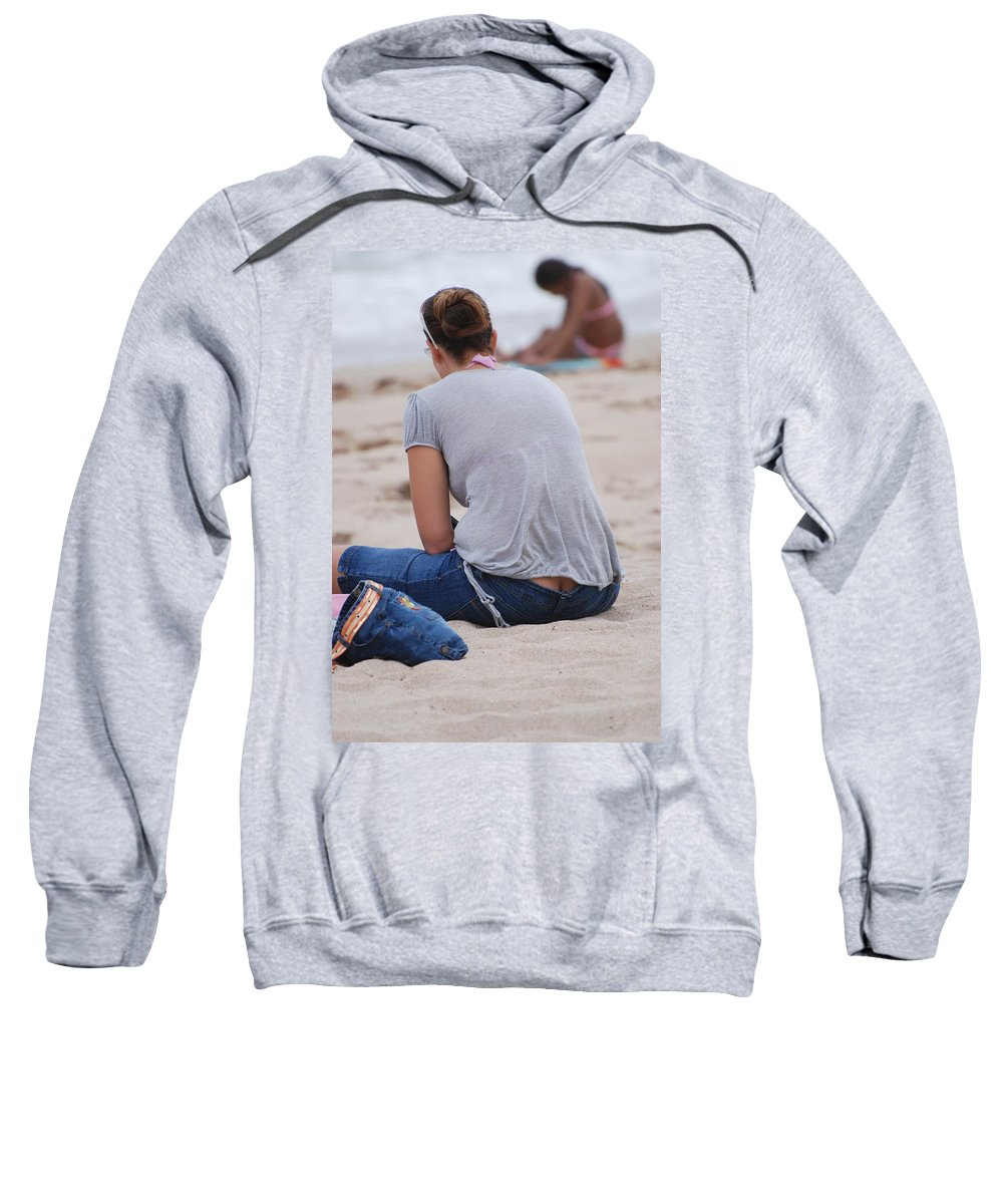 Girl Sweatshirt featuring the photograph Indiana Girl by Rob Hans