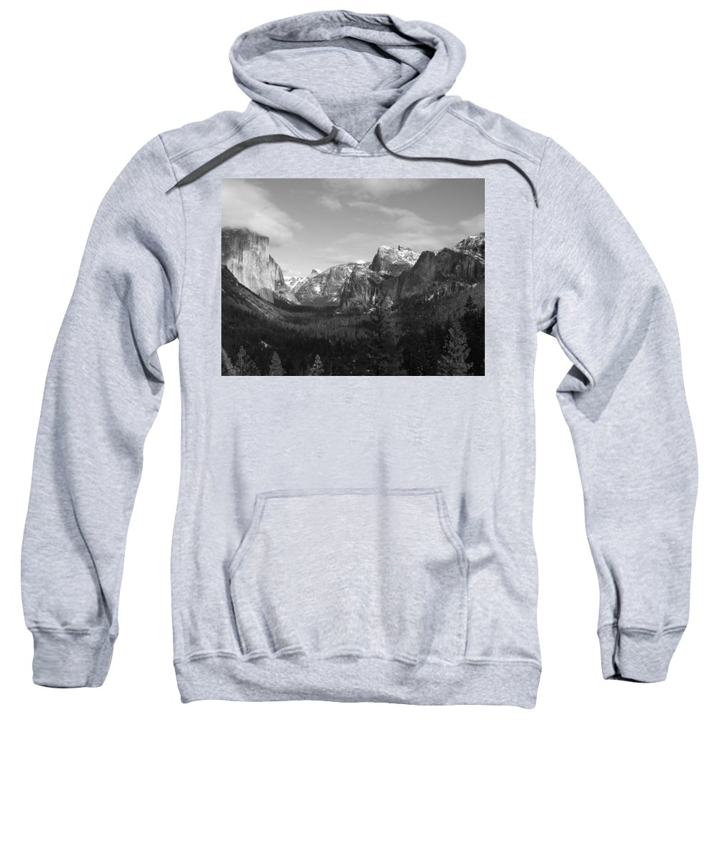 Yosemite Sweatshirt featuring the photograph Inspiration Point by Travis Day