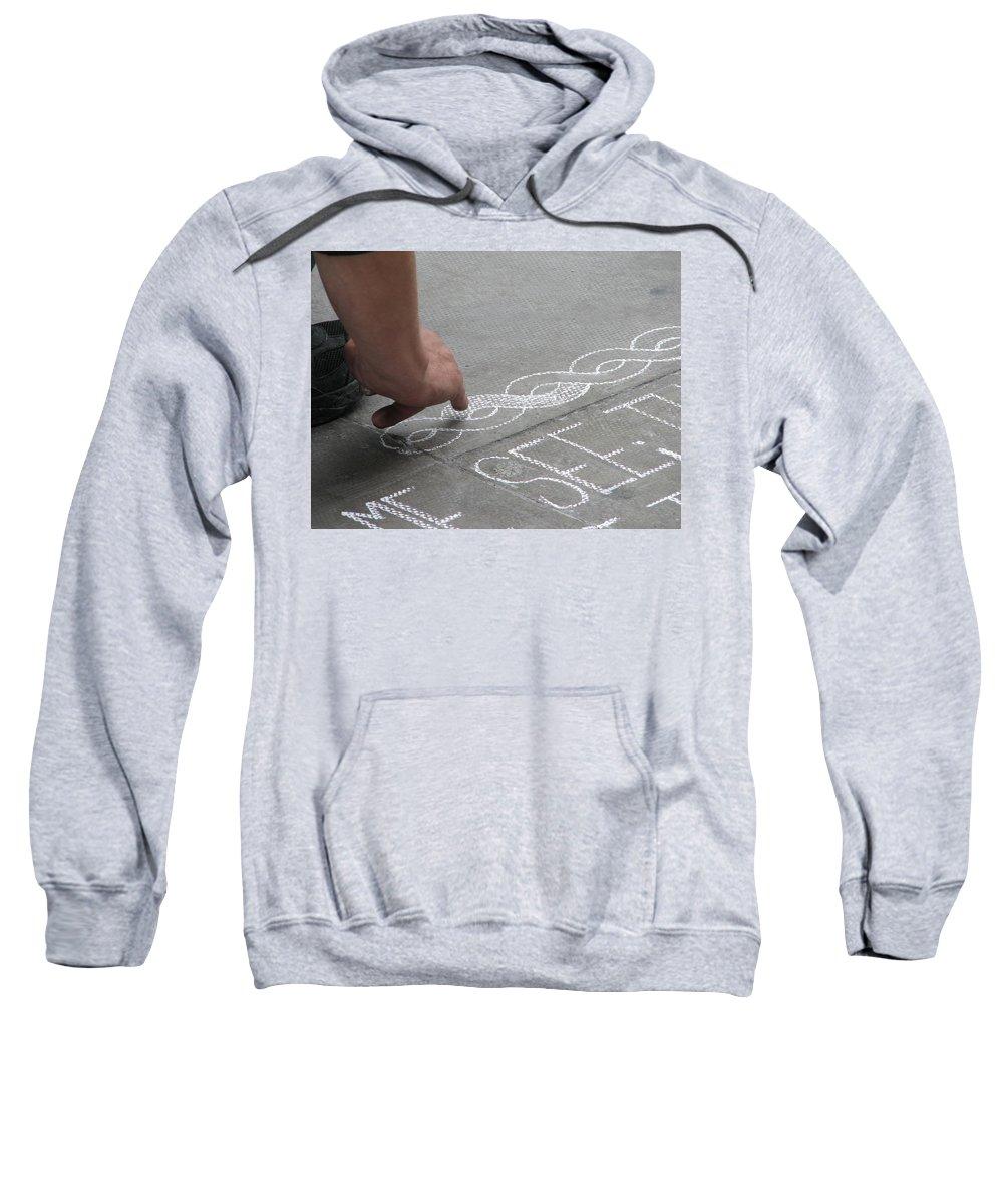 Dublin Sweatshirt featuring the photograph Integrity by Kelly Mezzapelle