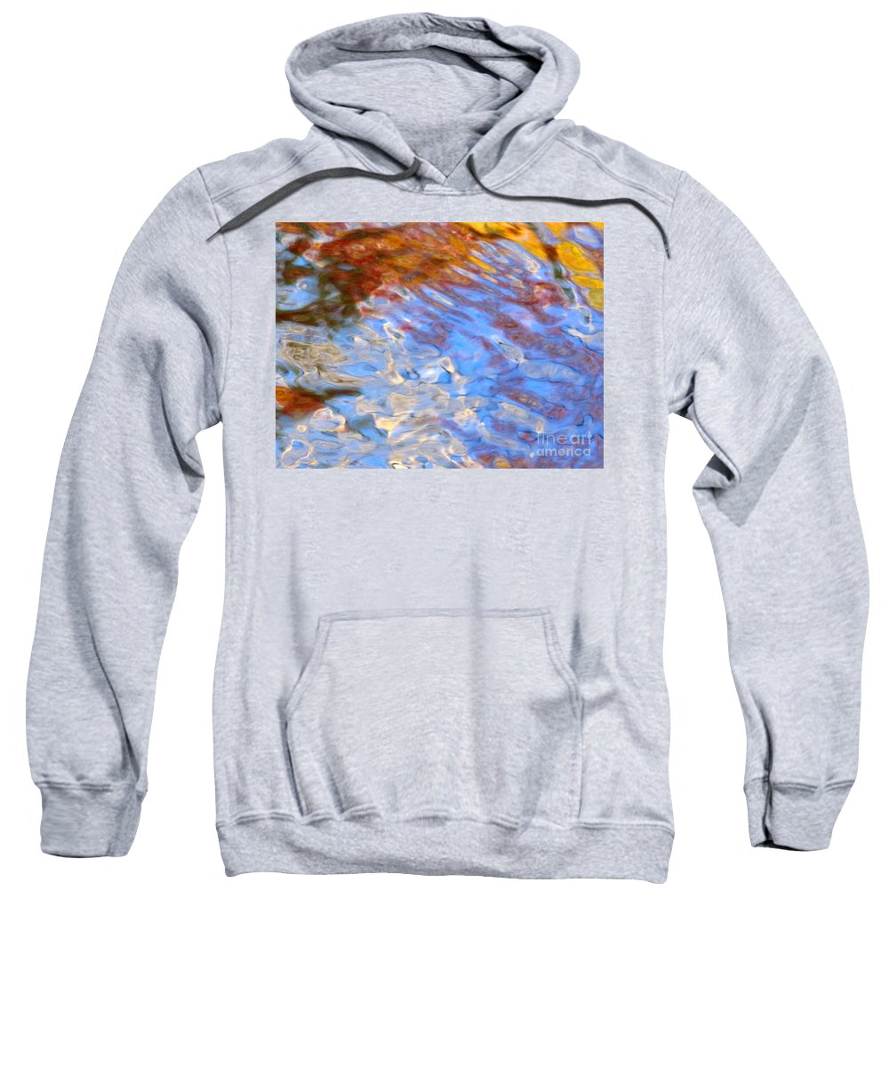 Water Art Sweatshirt featuring the photograph Interception by Sybil Staples