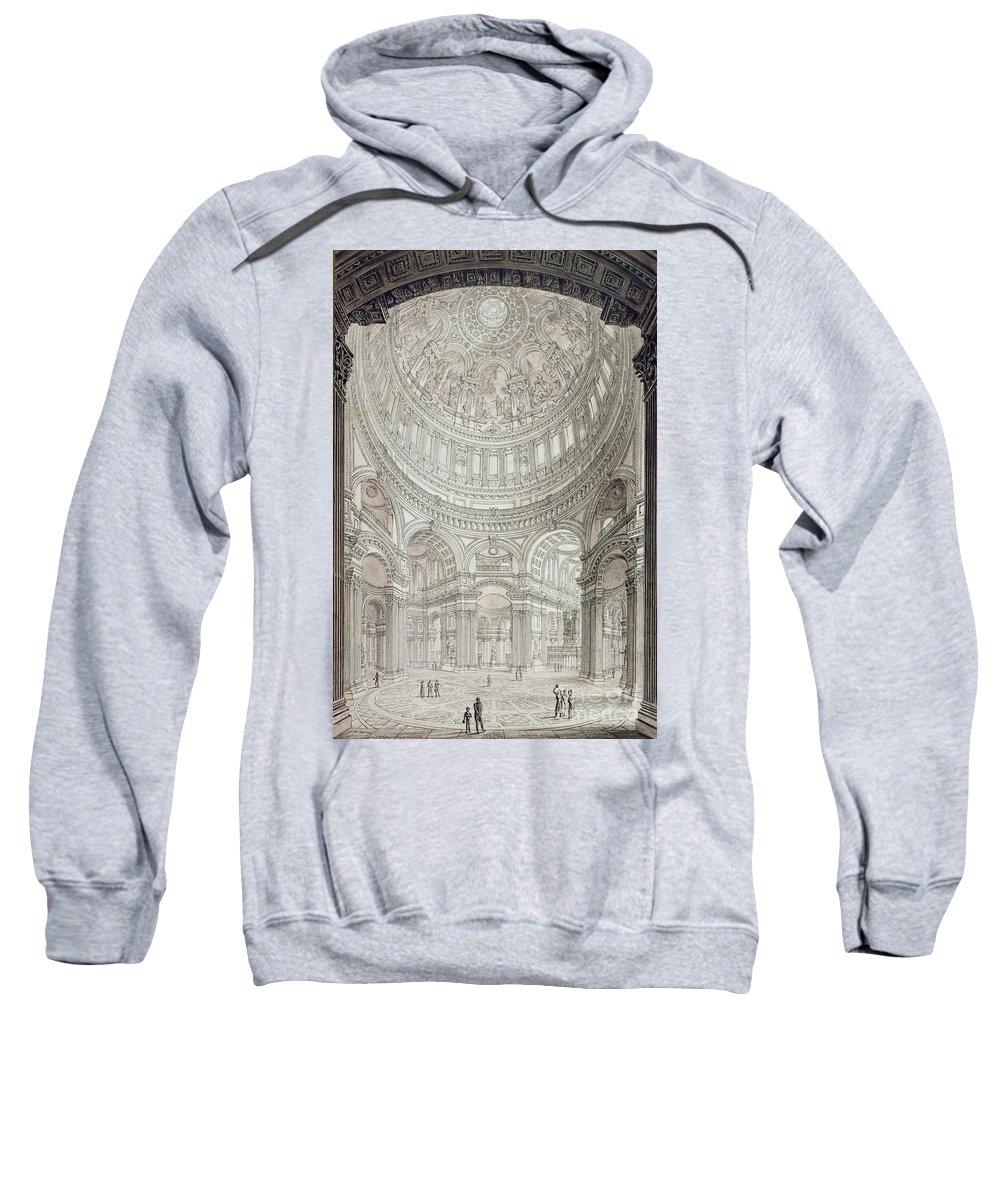 Christian Architecture Drawings Hooded Sweatshirts T-Shirts