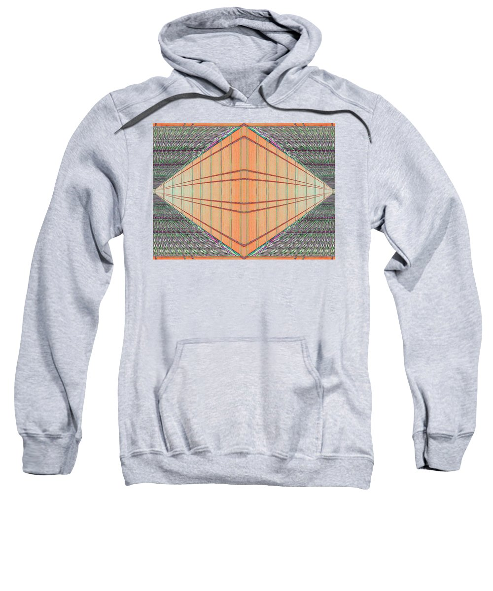 Architecture Sweatshirt featuring the photograph Intersect by Tim Allen