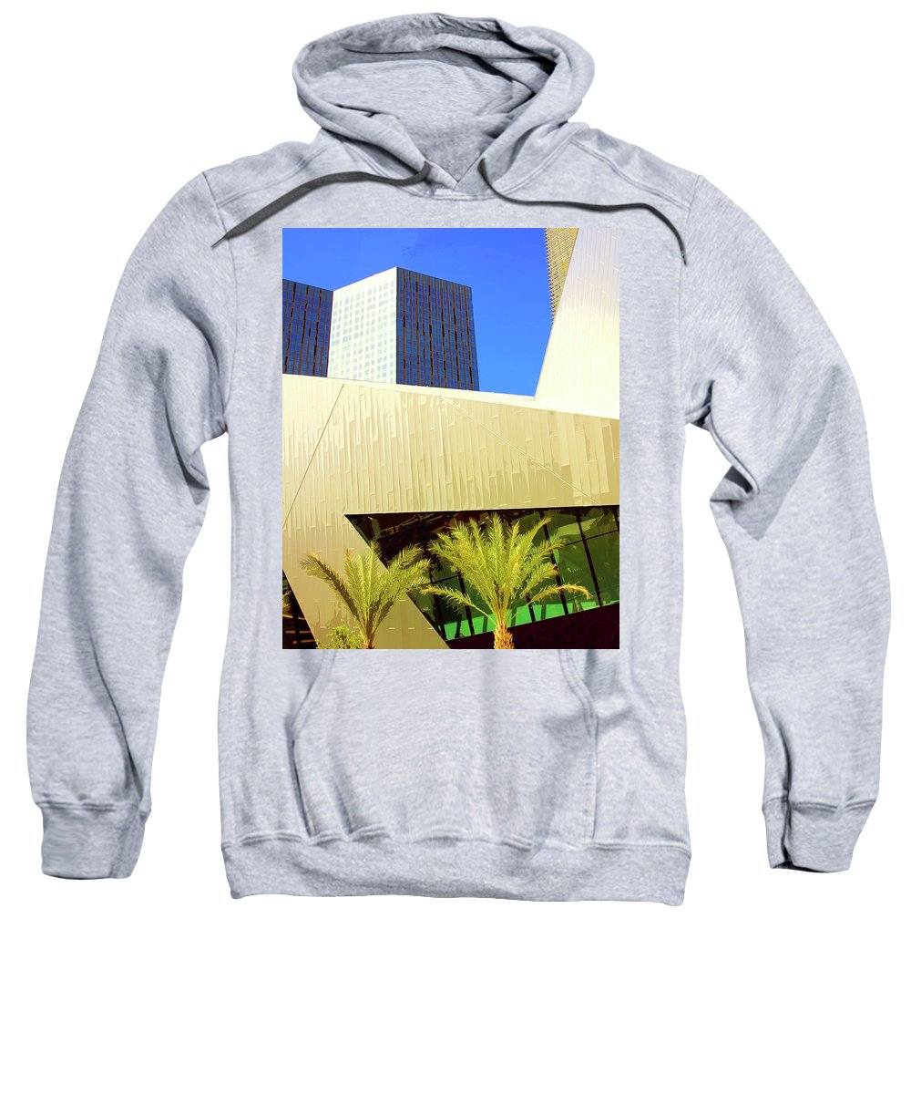 Vegas Sweatshirt featuring the photograph Intersection 2 by William Dey