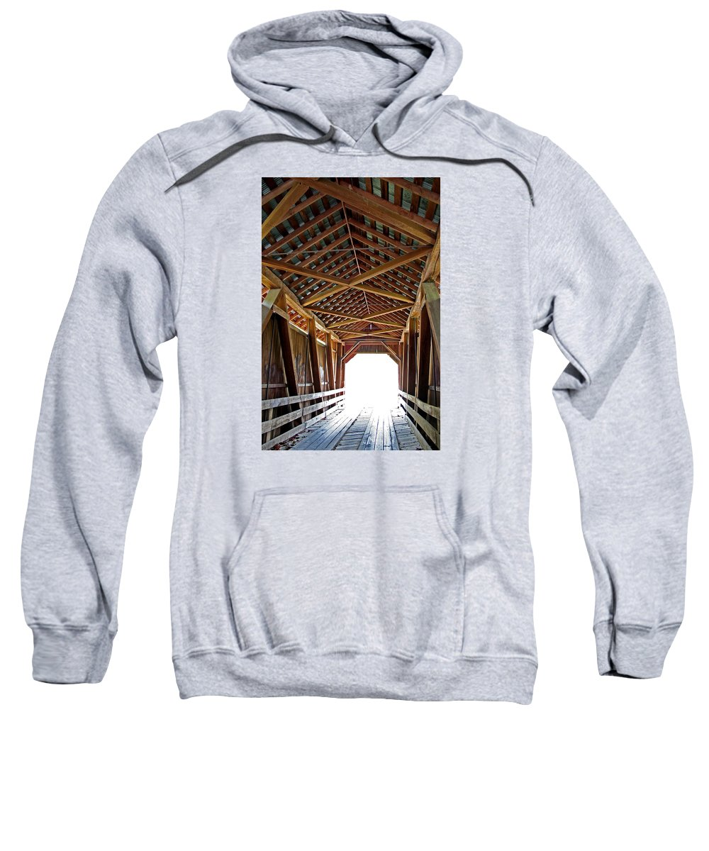 Light Sweatshirt featuring the photograph Into The Light by Margie Wildblood