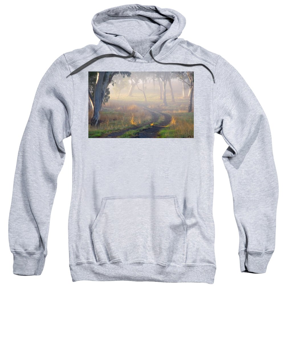 Mist Sweatshirt featuring the photograph Into The Mist by Mike Dawson