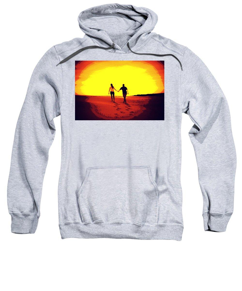 Sun Sweatshirt featuring the photograph Into The Sun by Tina Meador