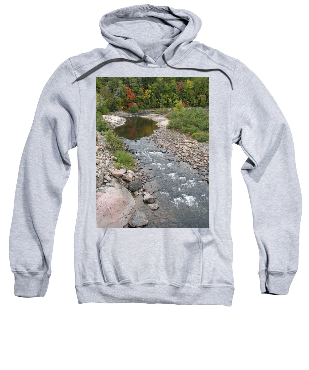 Water Sweatshirt featuring the photograph Into The Woods by Kelly Mezzapelle