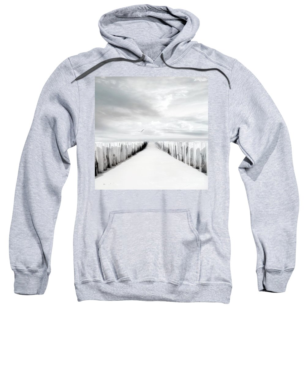 Beach Sweatshirt featuring the photograph Inviting by Jacky Gerritsen