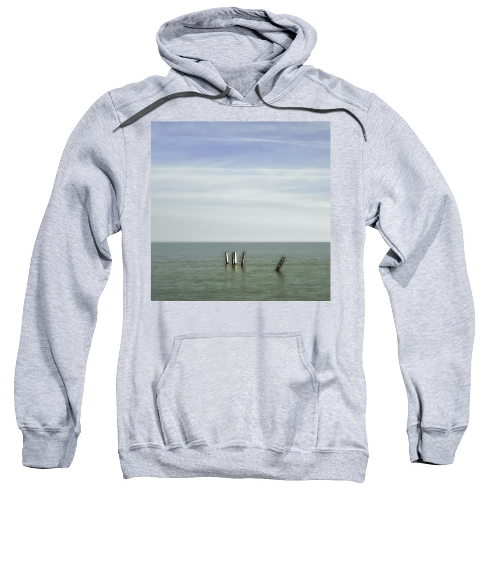Beach Sweatshirt featuring the photograph Ipperwash Beach # 2 by Jerry Golab