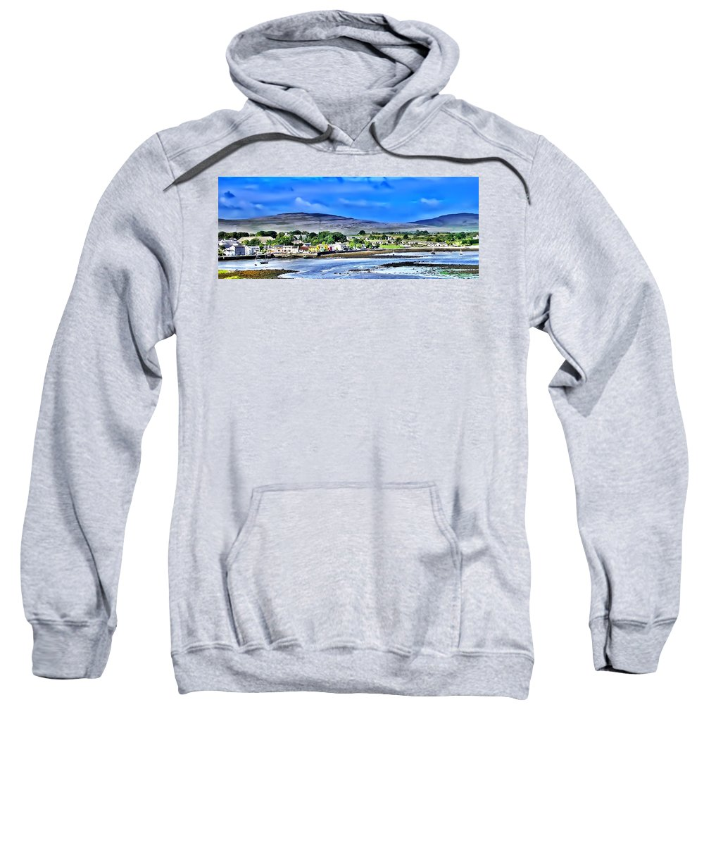 Ireland Sweatshirt featuring the photograph Ireland By The Sea by Bill Cannon