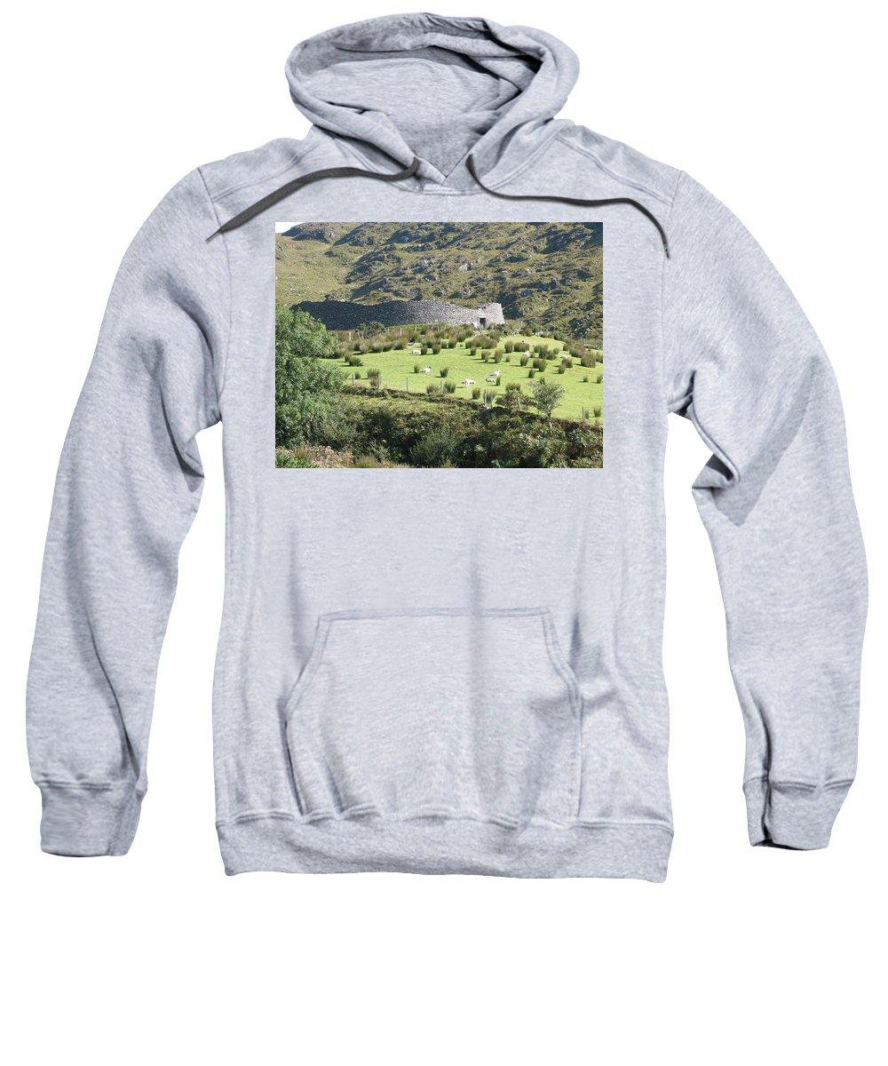 Ireland Sweatshirt featuring the photograph Ireland by Kelly Mezzapelle