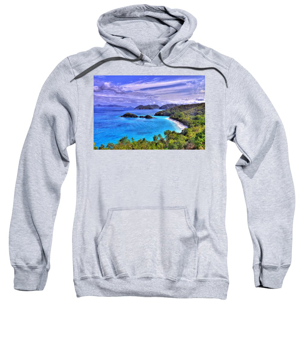 Island Sweatshirt featuring the photograph Isle Of Sands by Scott Mahon