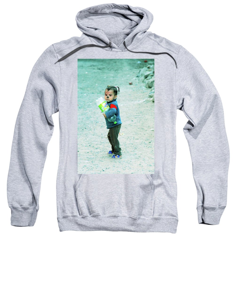 Jezcself Sweatshirt featuring the photograph it's mine and I am going home by Jez C Self