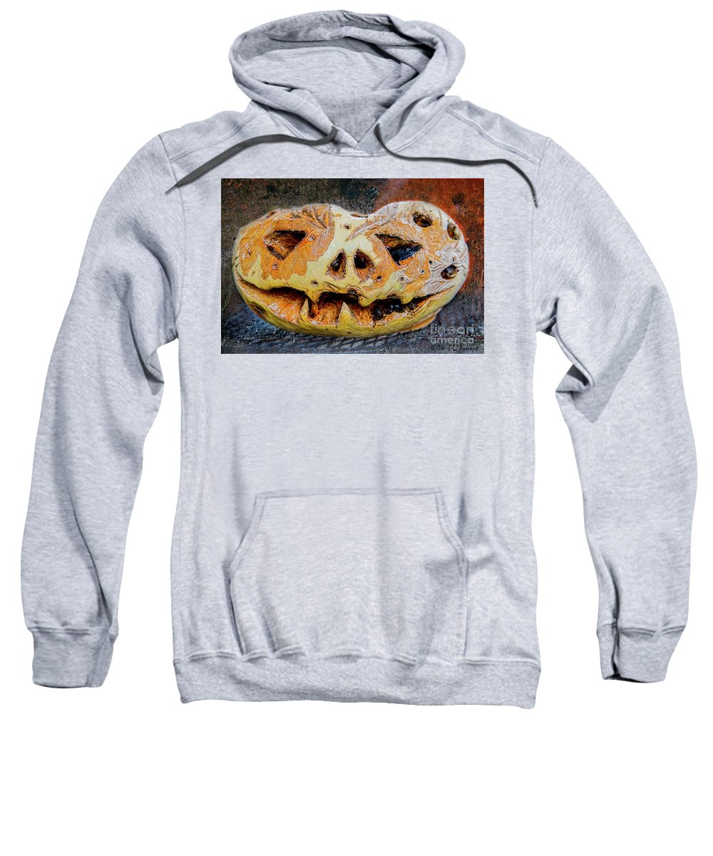 Pumpkin Sweatshirt featuring the photograph Jack-o-lantern by David Arment