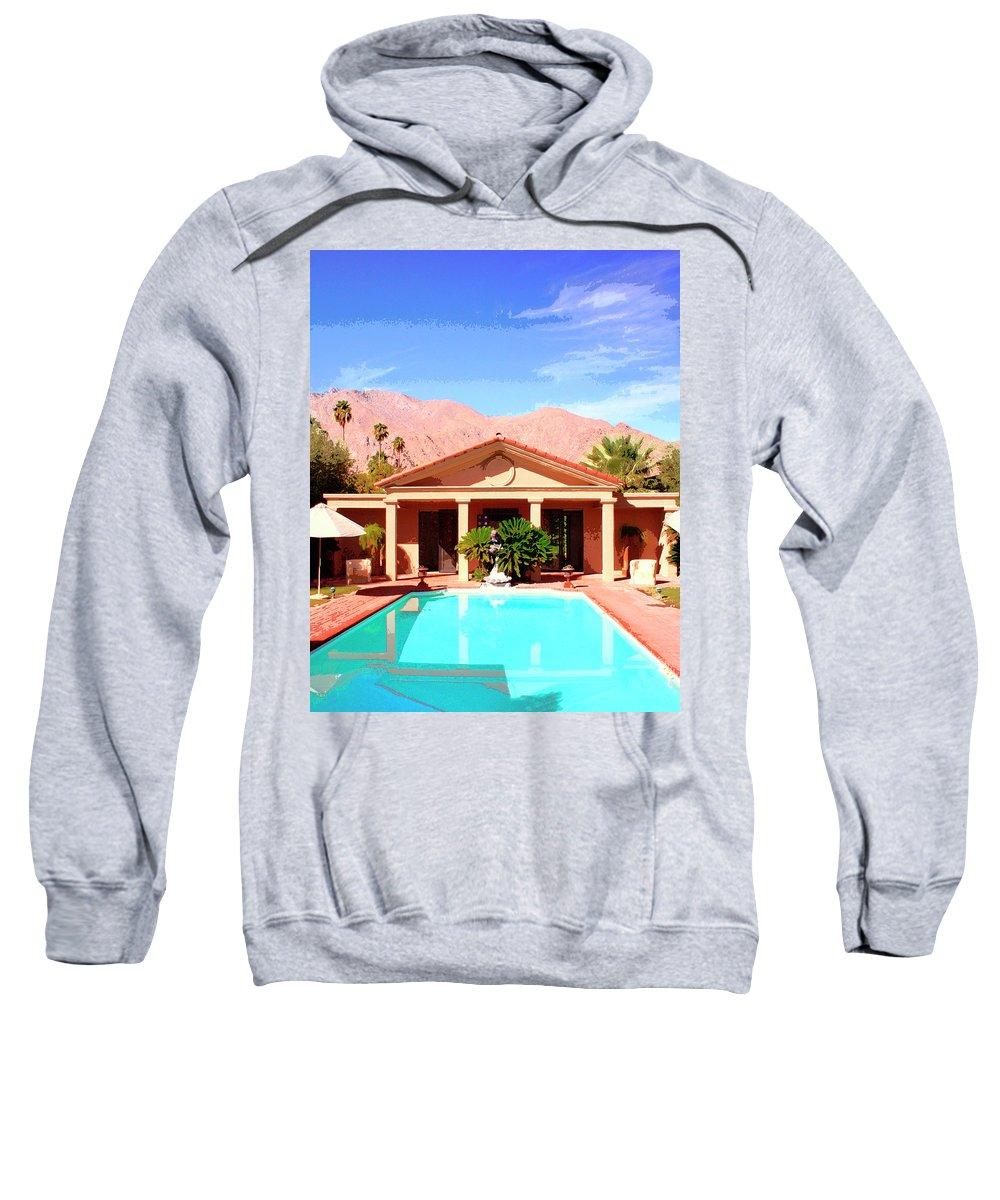 Jack Warner Estate Sweatshirt featuring the photograph Jack Warner Estate by William Dey