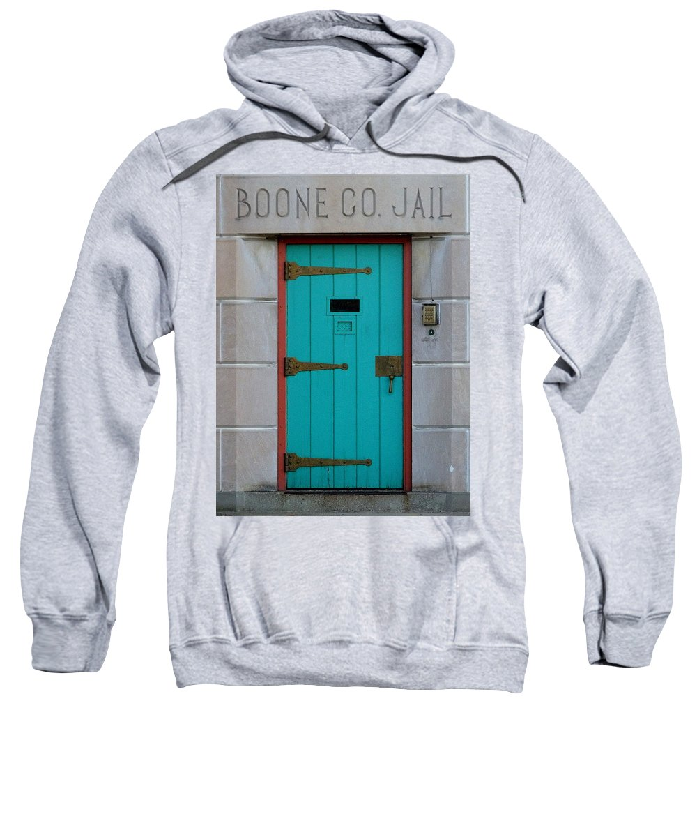 Still Life Sweatshirt featuring the photograph Jail For Sale by Ed Smith