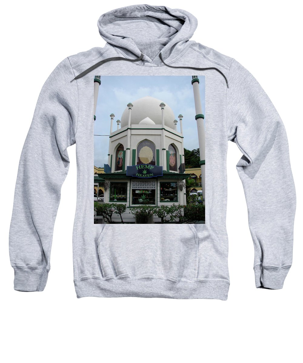 Jamaica Sweatshirt featuring the photograph Jamaica Hemp Heaven by Brett Winn