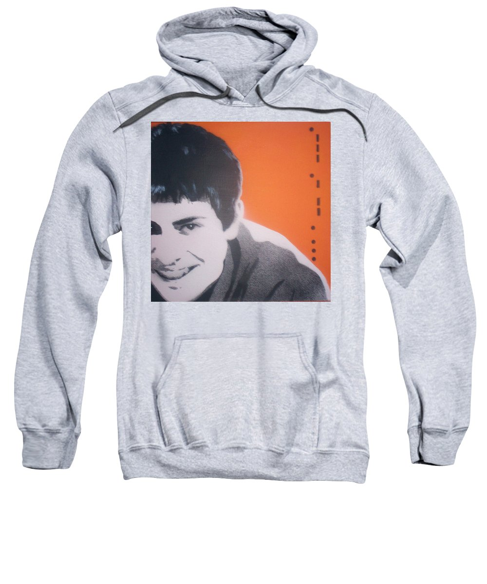 James Sweatshirt featuring the painting James by Gary Hogben