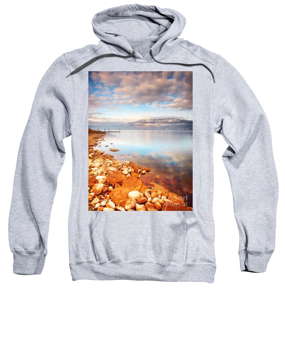 Lake Sweatshirt featuring the photograph January 19 2010 by Tara Turner