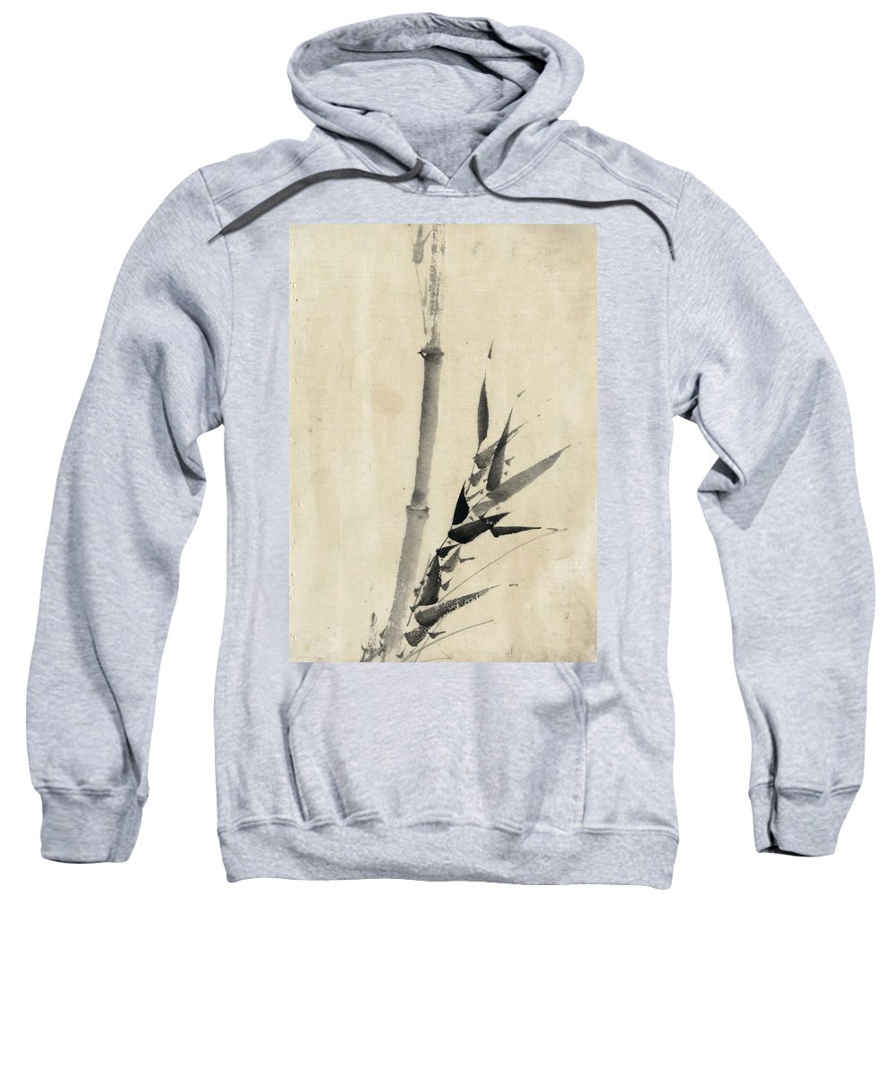 1850 Sweatshirt featuring the photograph Japan: Bamboo, C1830-1850 by Granger