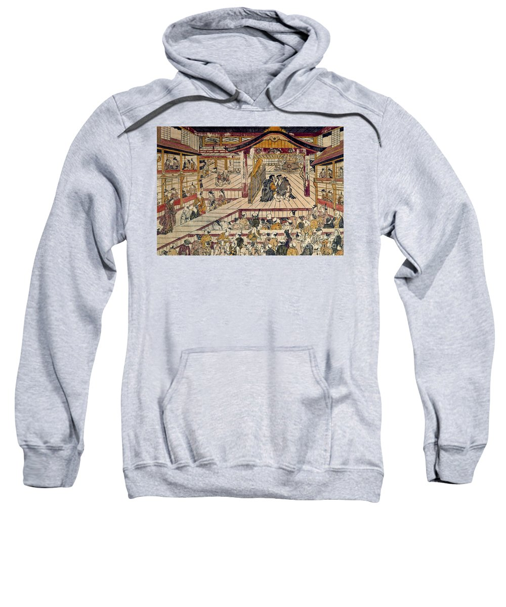 18th Century Sweatshirt featuring the photograph Japan: Kabuki Theater by Granger