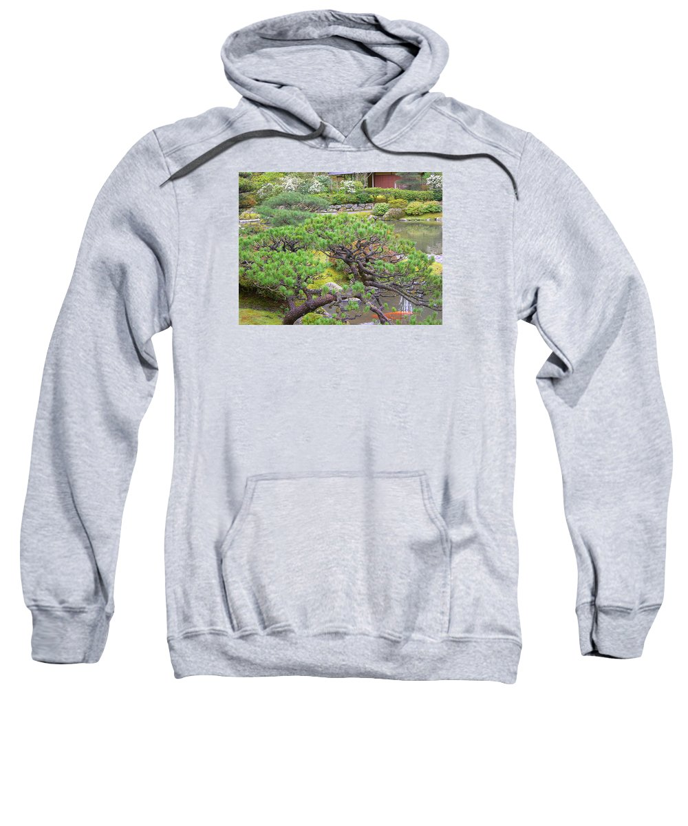 Japanese Sweatshirt featuring the photograph Japanese Elm by Maro Kentros