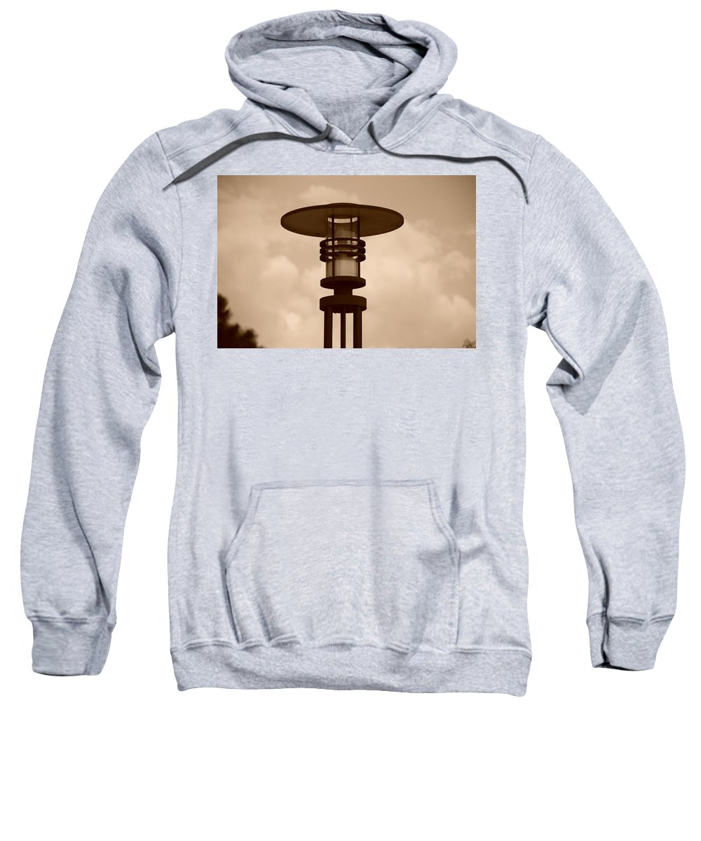 Sepia Sweatshirt featuring the photograph Japanese Lamp by Rob Hans
