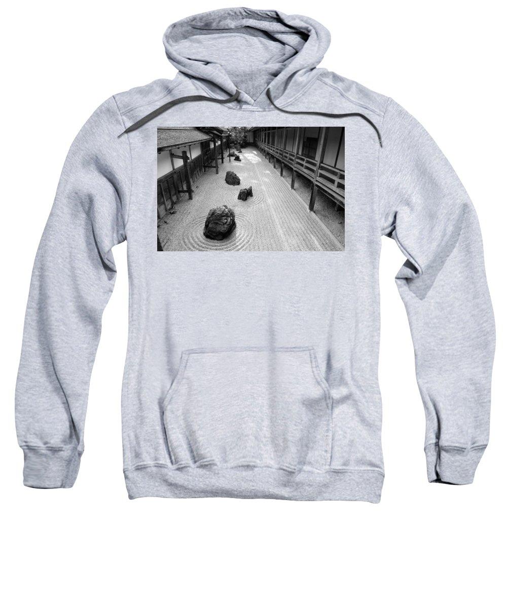 Japan Sweatshirt featuring the photograph Japanese Zen Garden by Sebastian Musial