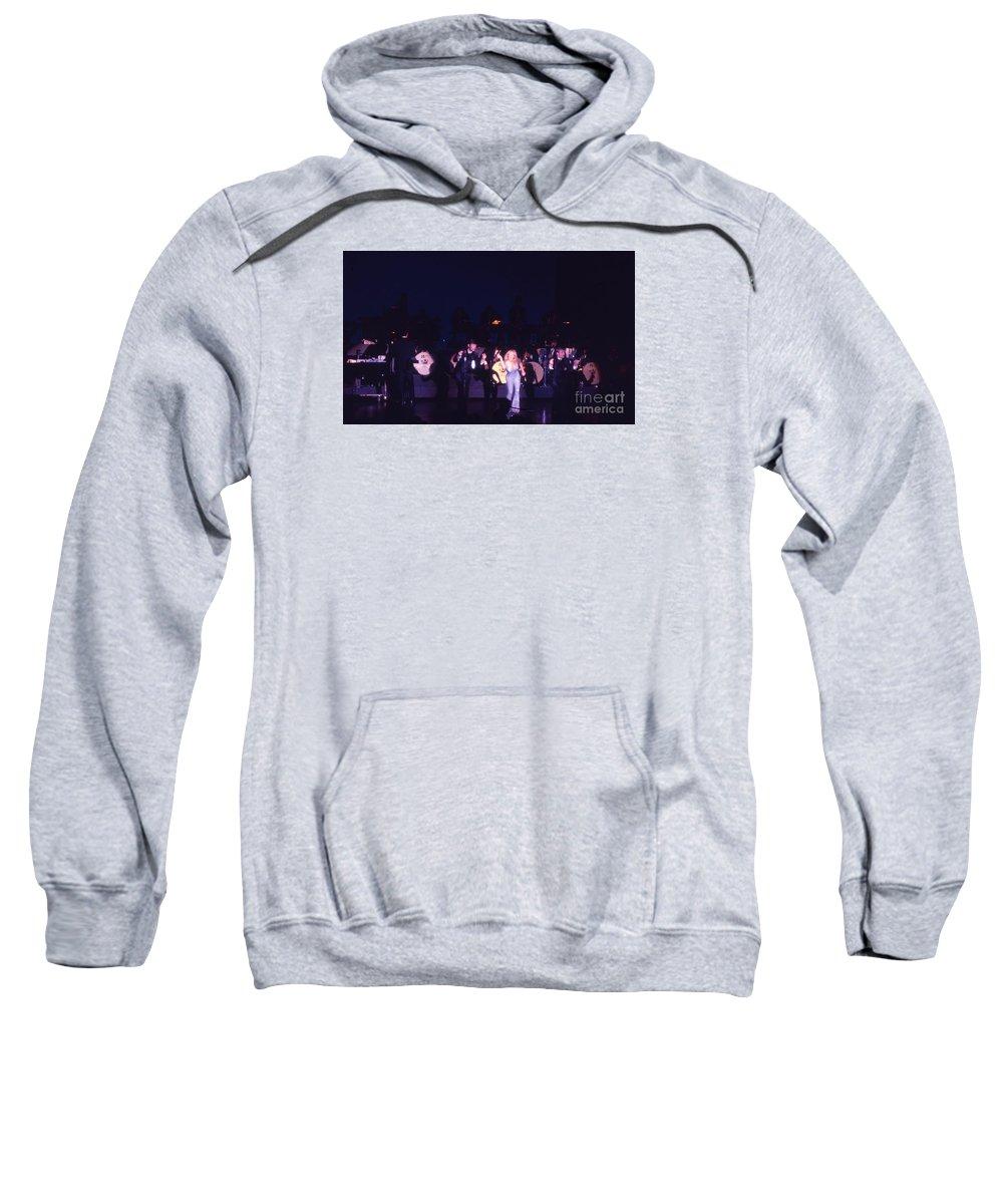 Joey Heatherton Las Vegas Performers Sweatshirt featuring the photograph Joey Heatherton In Las Vegas by Bob Bennett