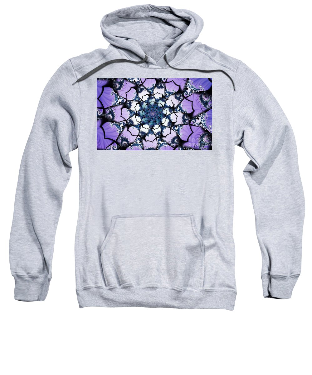 Clay Sweatshirt featuring the digital art Julia by Clayton Bruster