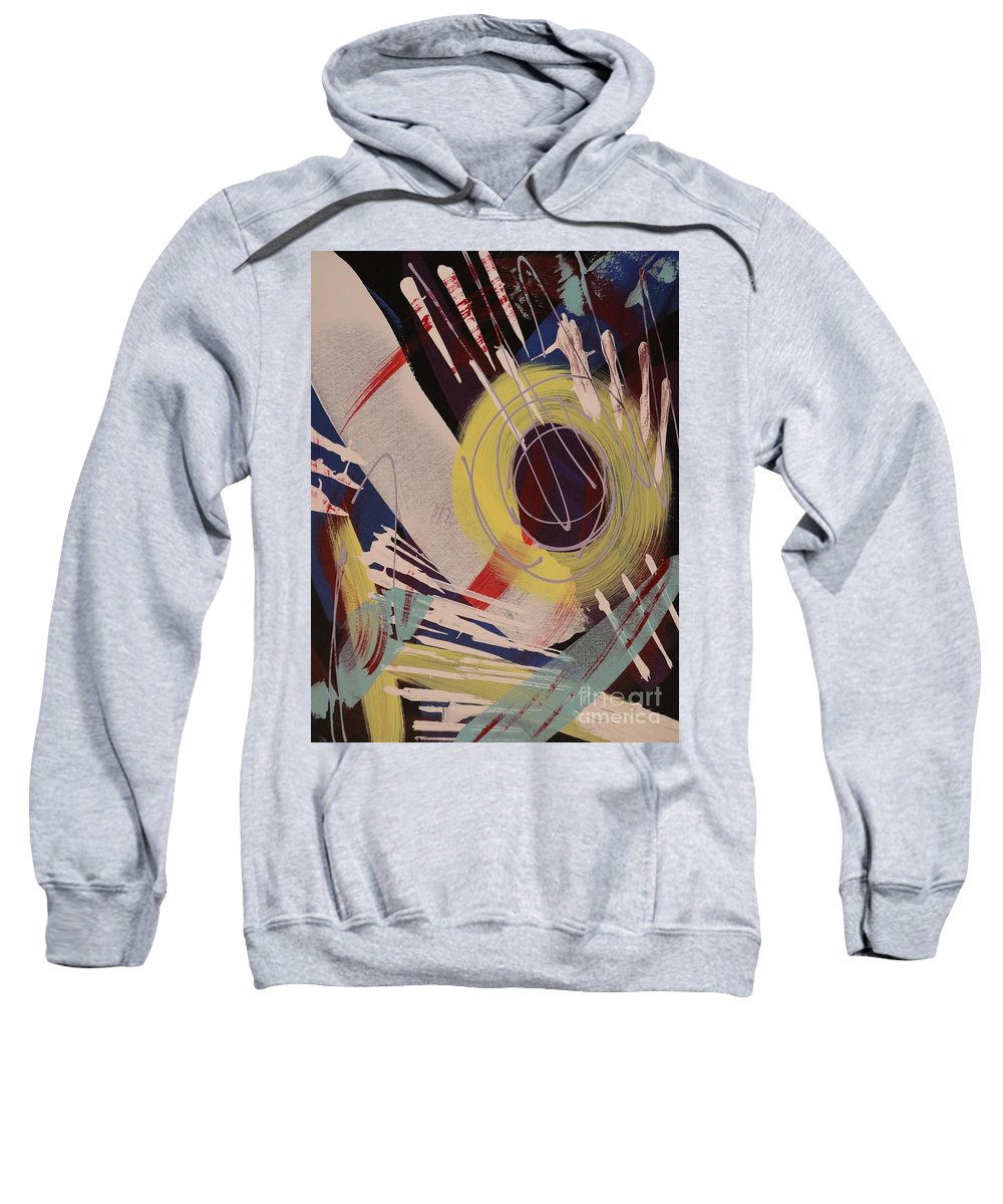 Acrylic Sweatshirt featuring the painting July 4th - 274 by Robert Dixon
