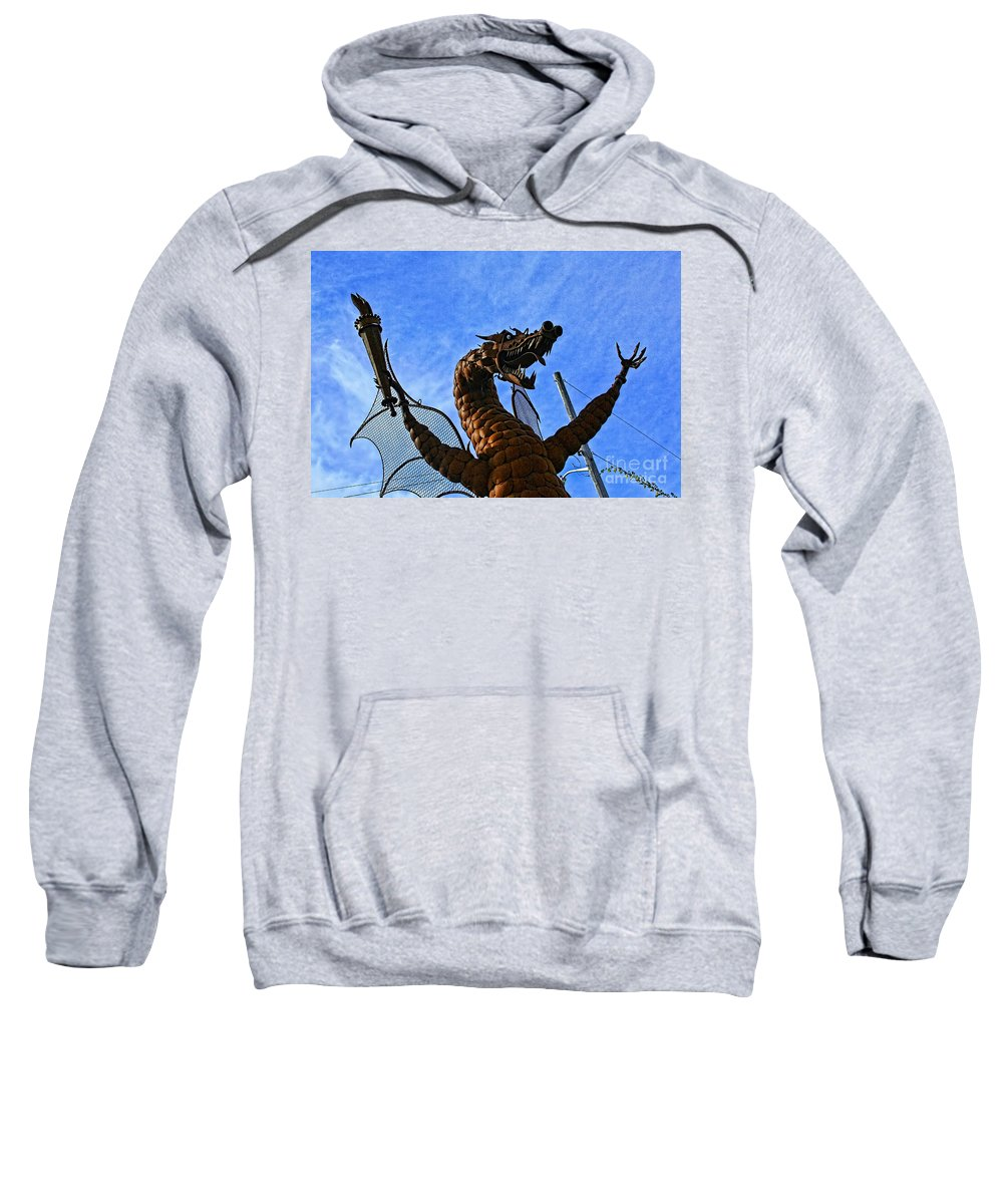 Jurustic Park Sweatshirt featuring the photograph Jurustic Park - 2 by Tommy Anderson