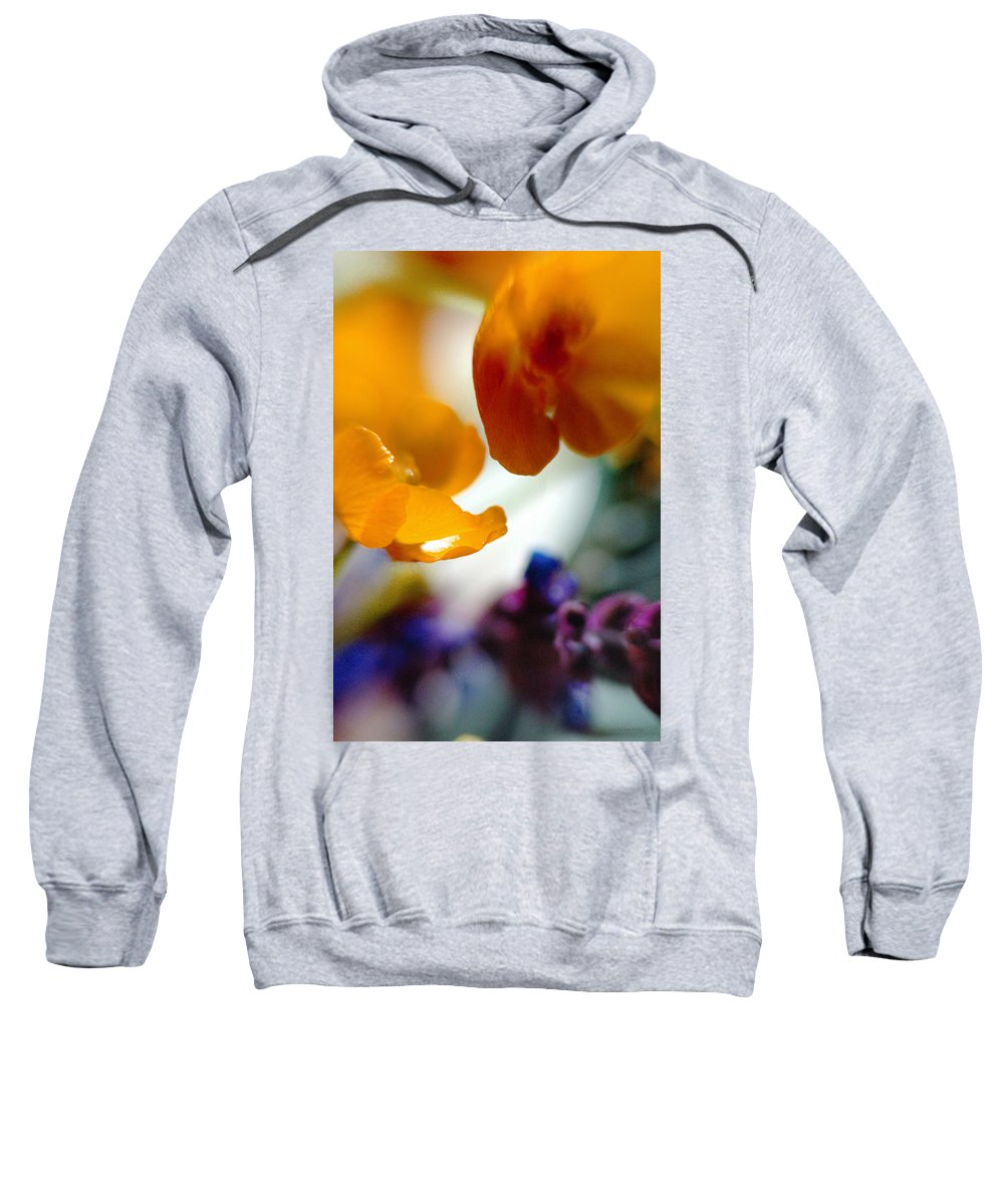 Flowers Sweatshirt featuring the photograph Just As It Is... by Arthur Miller