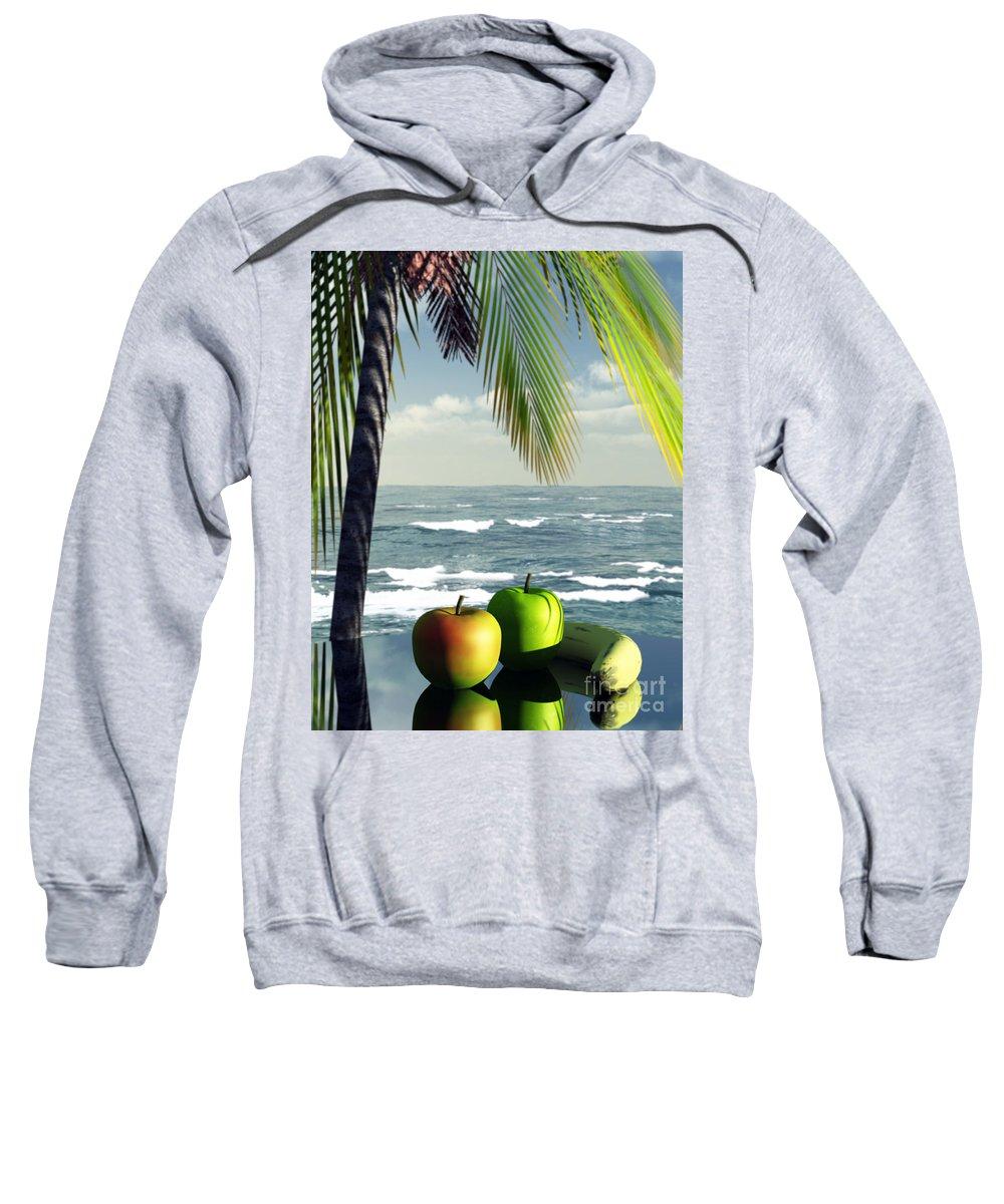 Just Dessert Sweatshirt featuring the digital art Just Dessert by Richard Rizzo