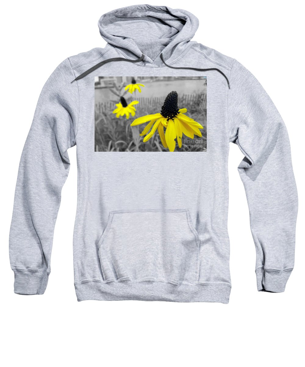 Flowers Sweatshirt featuring the photograph Just Outside 2 by Jamel Thomas