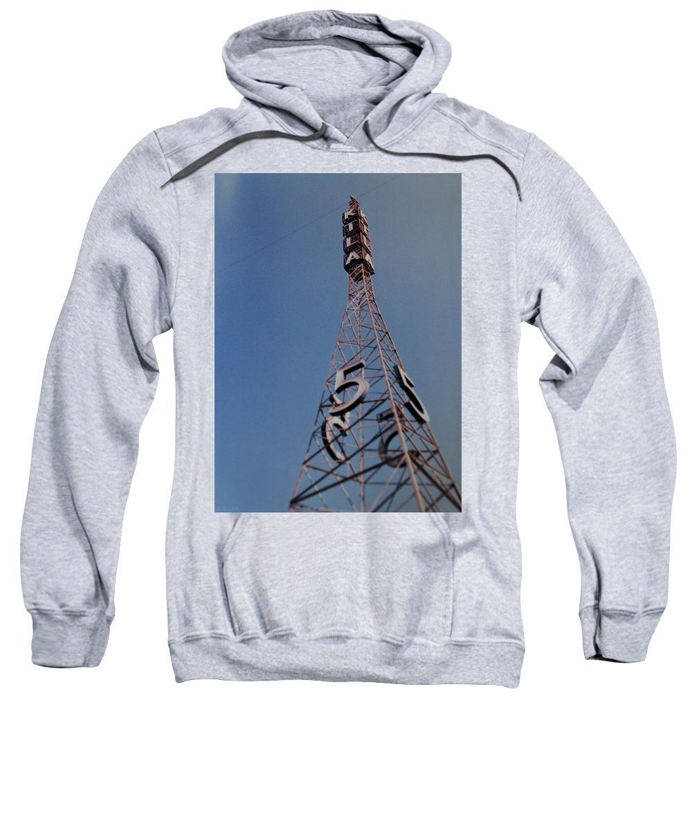 Hollywood Sweatshirt featuring the photograph K T L A Channel 5 by Rob Hans