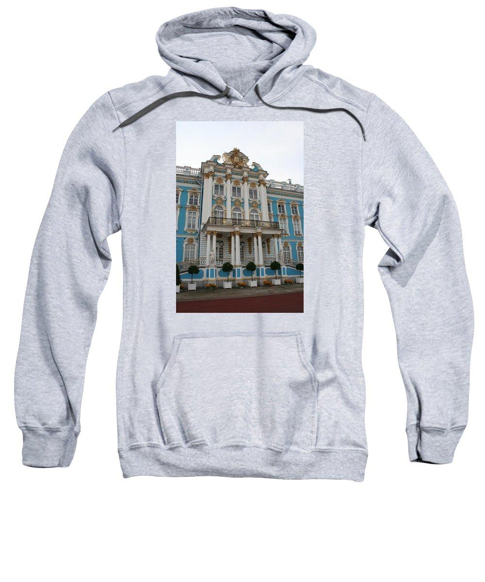 Palace Sweatshirt featuring the photograph Katharinen Palace I - Russia by Christiane Schulze Art And Photography