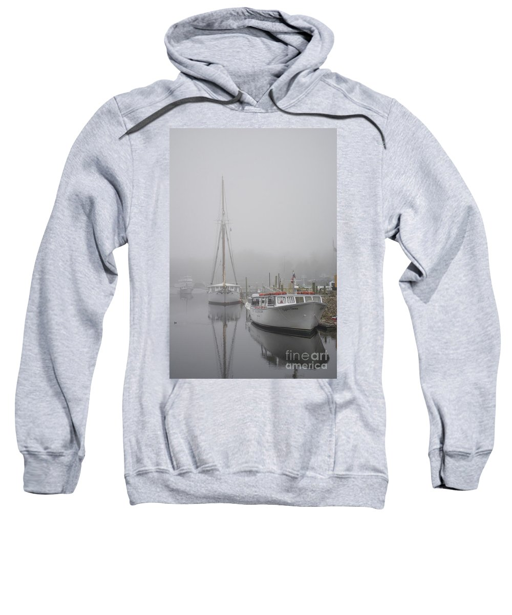 Maritime Sweatshirt featuring the photograph Kennebunkport 1 by Skip Willits