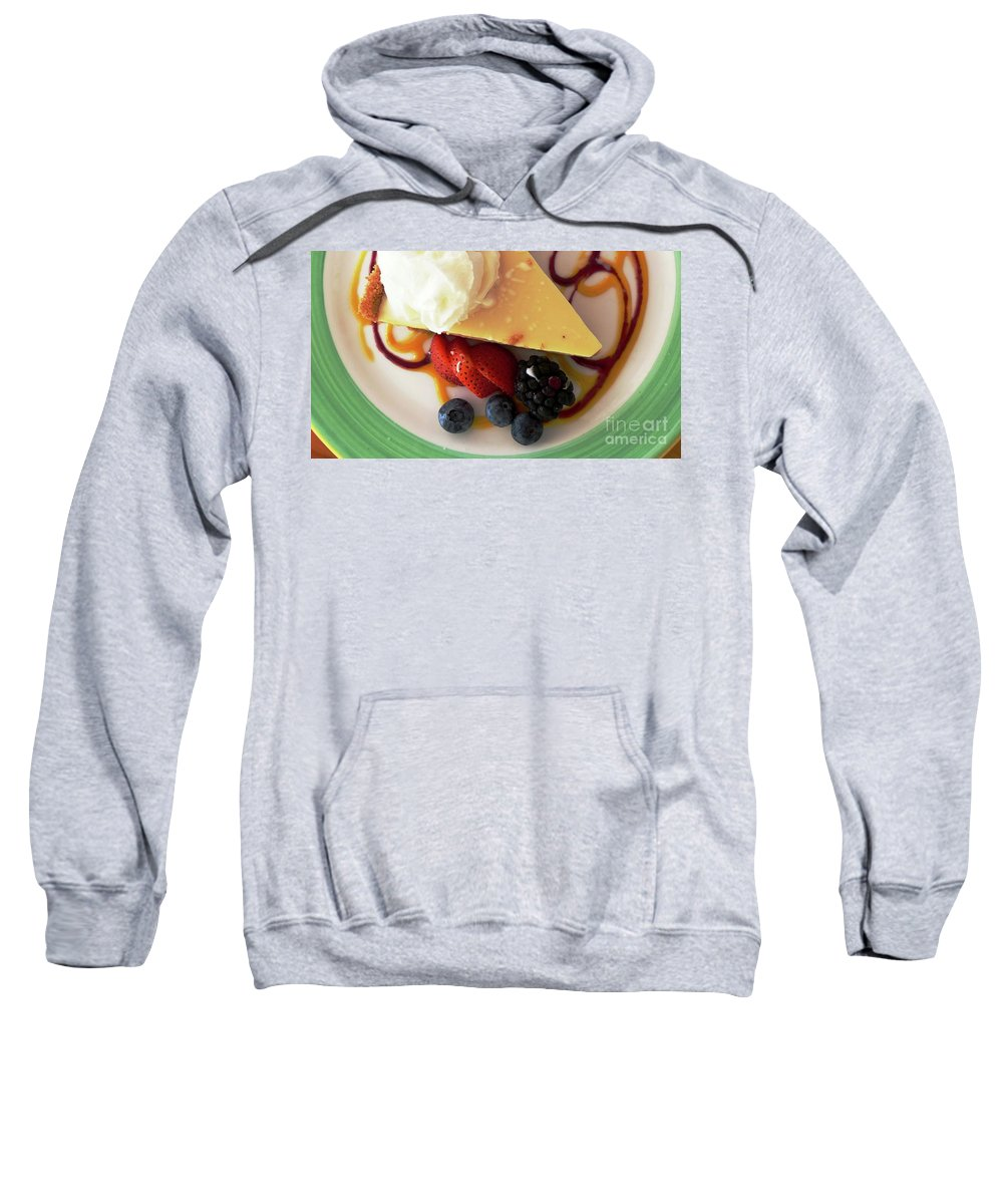 Key Lime Pie Sweatshirt featuring the photograph Key Lime Pie by Carlos Amaro