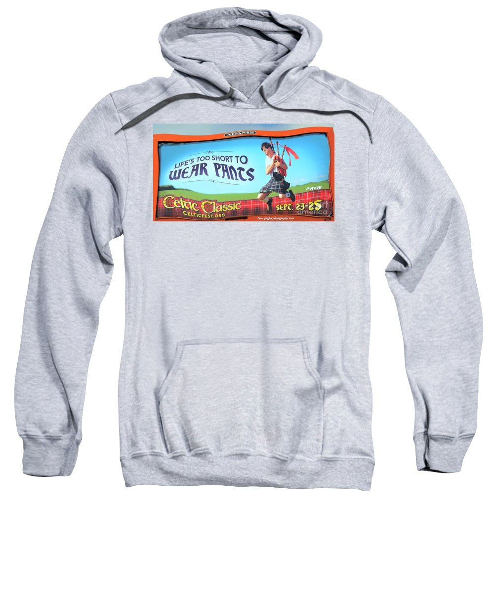 Celtic Sweatshirt featuring the photograph Kick It Up A Notch by Tami Quigley