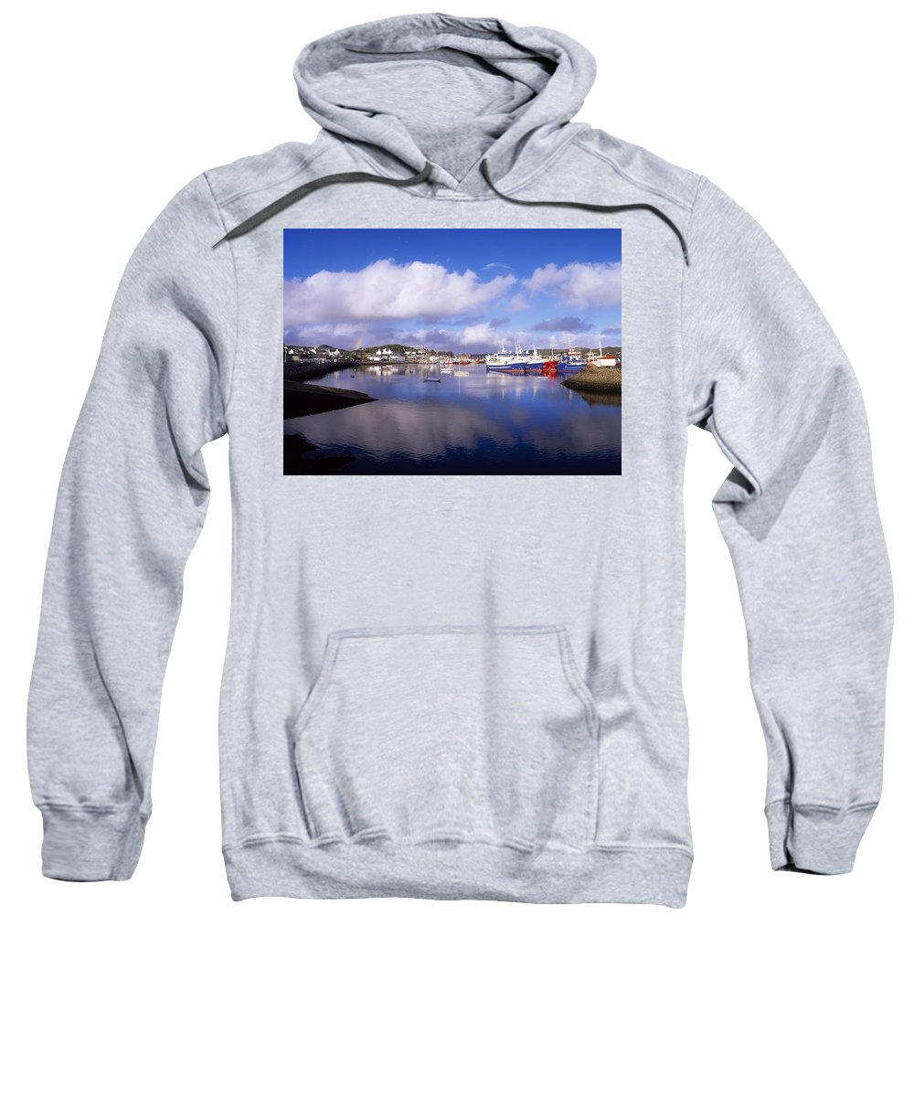 Boat Sweatshirt featuring the photograph Killybegs, Co Donegal, Ireland by The Irish Image Collection