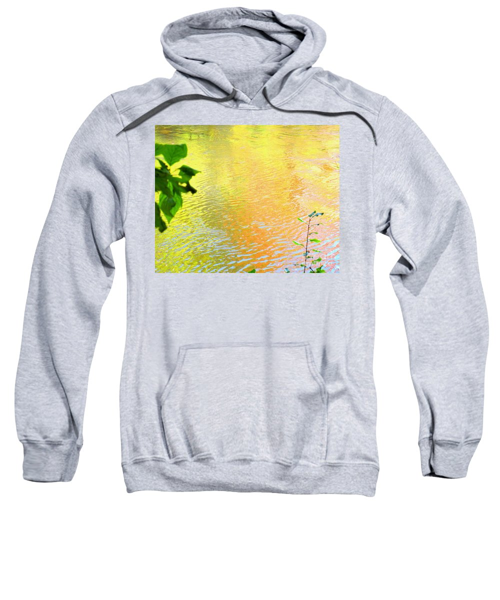 Water Art Sweatshirt featuring the photograph Kindness by Sybil Staples