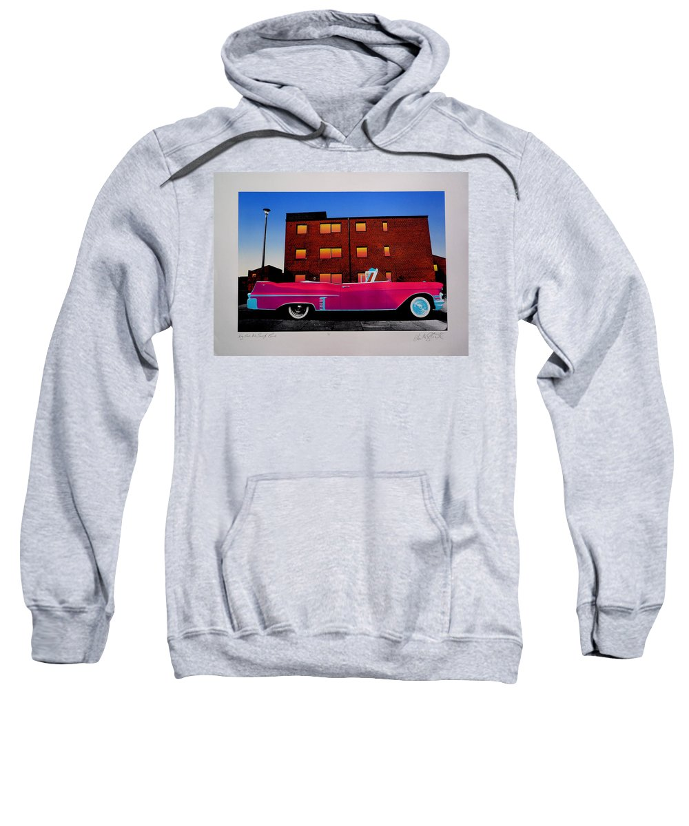 Sweatshirt featuring the photograph King Elvis Has Surely Come by Charles Stuart