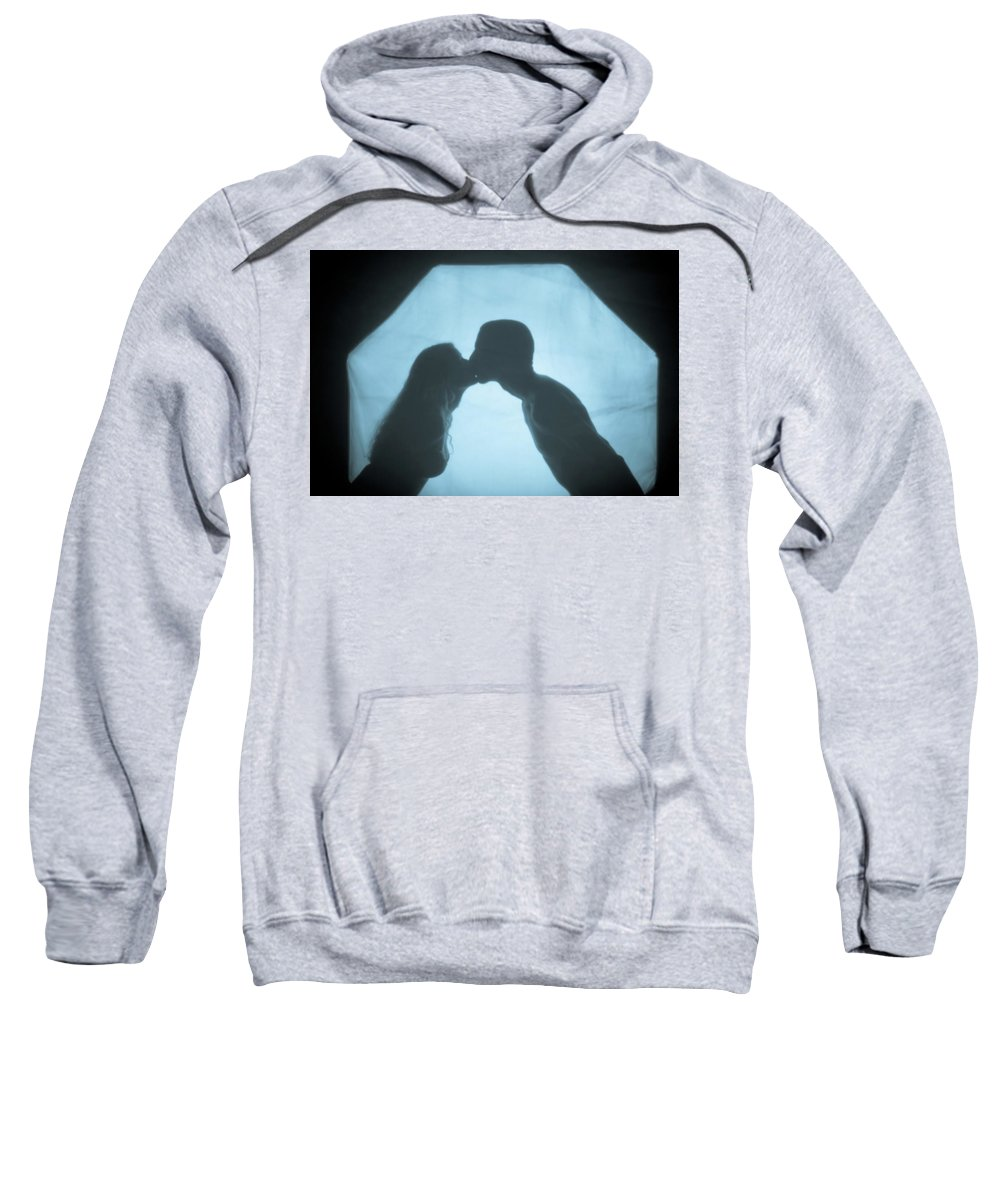 Kissing Sweatshirt featuring the photograph Kissing by Scott Sawyer