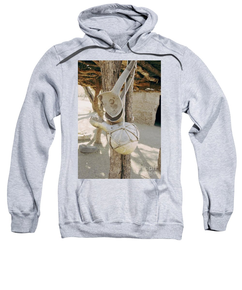 Tumacacori Sweatshirt featuring the photograph Kitchen Utensils by Kathy McClure