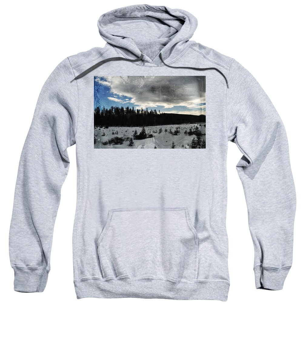 Oregon Sweatshirt featuring the photograph Klamath Falls Sunrise by Kyle Hanson