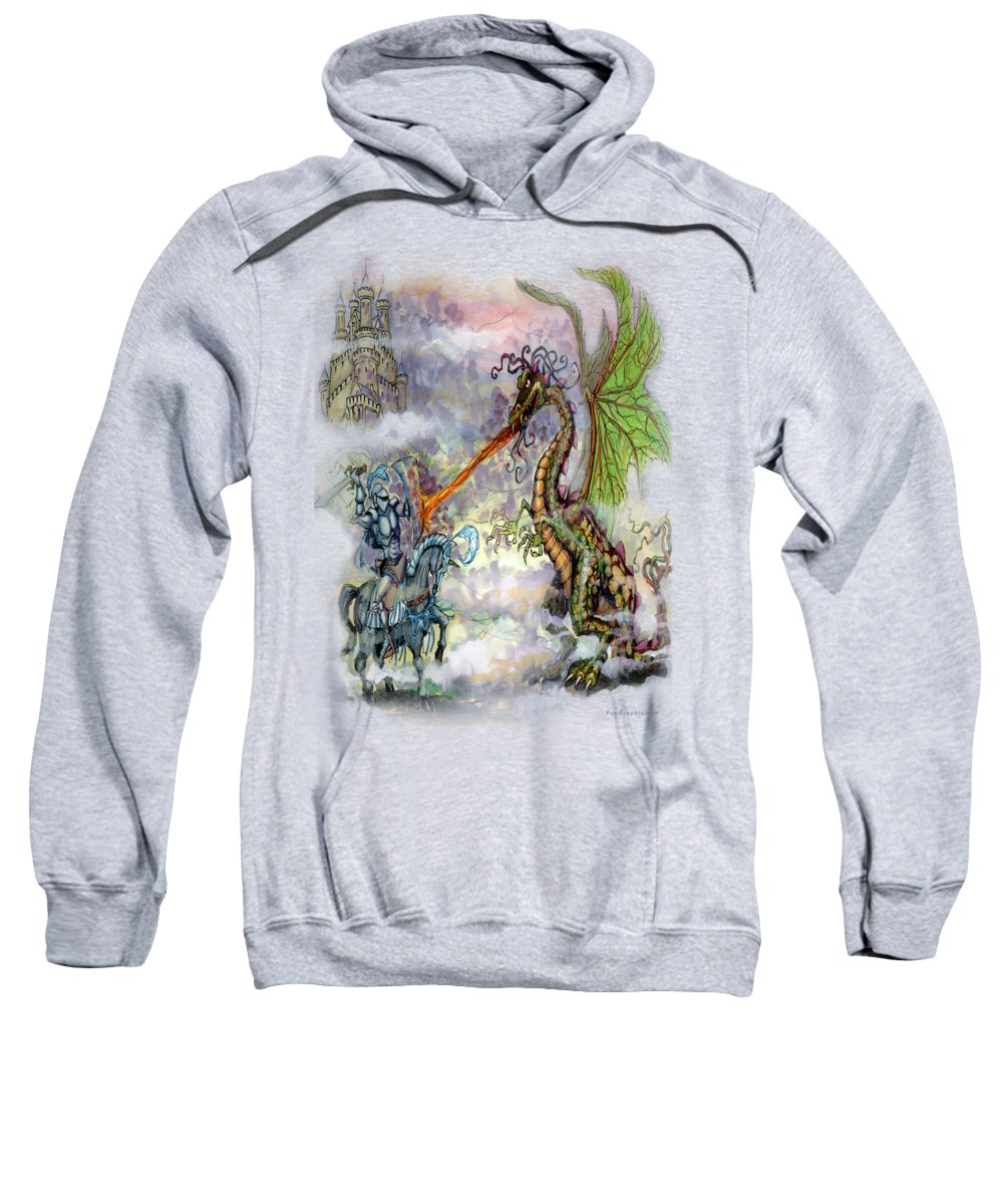 Knight Hooded Sweatshirts T-Shirts