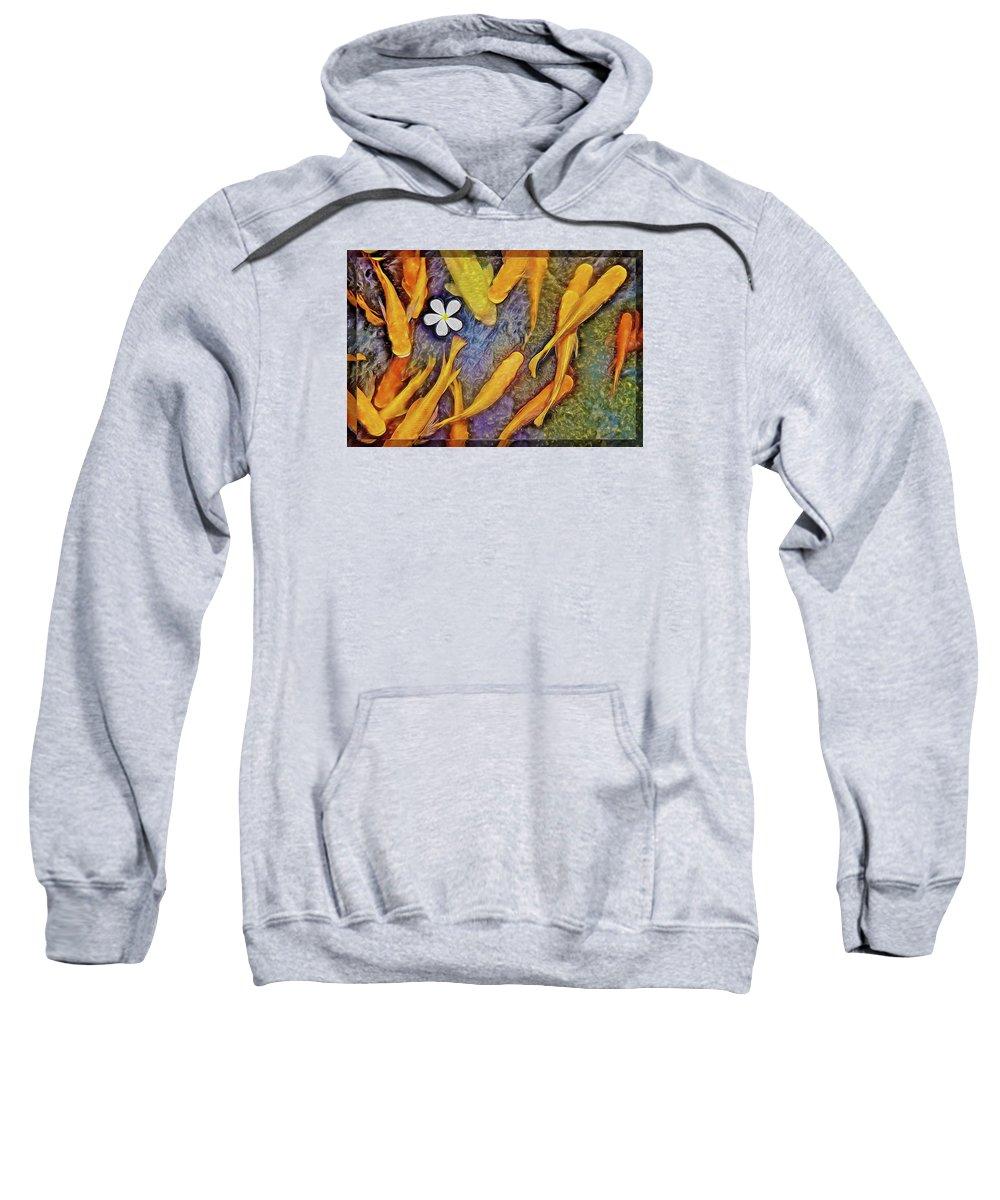 Kid Sweatshirt featuring the photograph Fish Bliss by Mark Van Martin