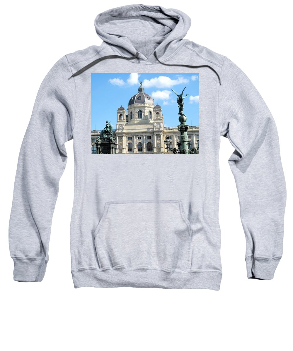 Vienna Sweatshirt featuring the photograph Kunsthistoriches Museum Vienna by Ian MacDonald